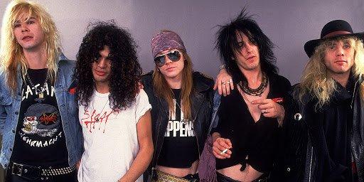 Confira Guns N' Roses
