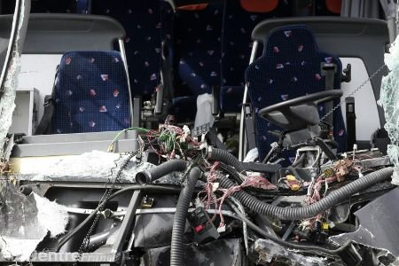 5 morts, 27 blessés dans l'accident d'un car ukrainien en Pologne