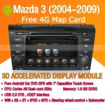 Android Mazda CX-7 DVD Player GPS Navigation Radio Wifi 3G 2009-