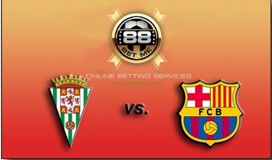 Prediksi skor Cordoba VS Barcelona 2 mei 2015