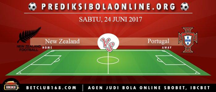 Prediksi New Zealand Vs Portugal 24 Juni 2017