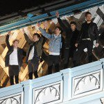EXCLUSIVE : One Direction filming on Tower Bridge