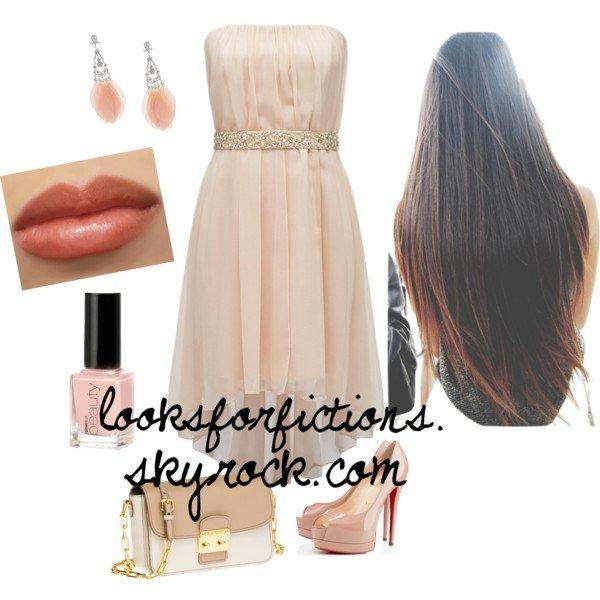 Tenue de Soirée Rose Pâle ♥♥♥