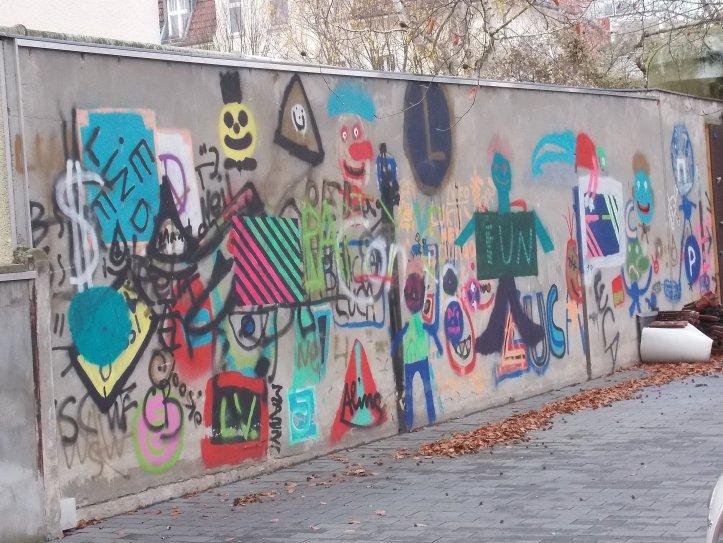 """Street Art oder """"Fun"""" an der Wand!"""