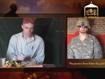 طالبان تبث شريطا جديدا يظهر جنديا أمريكيا مخطوفا