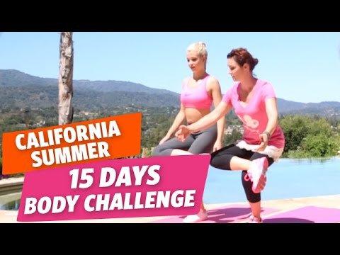 ✿ [California Summer #9] – 15 Days Body Challenge pour un corps de rêve avec Marie et Valérie ✿