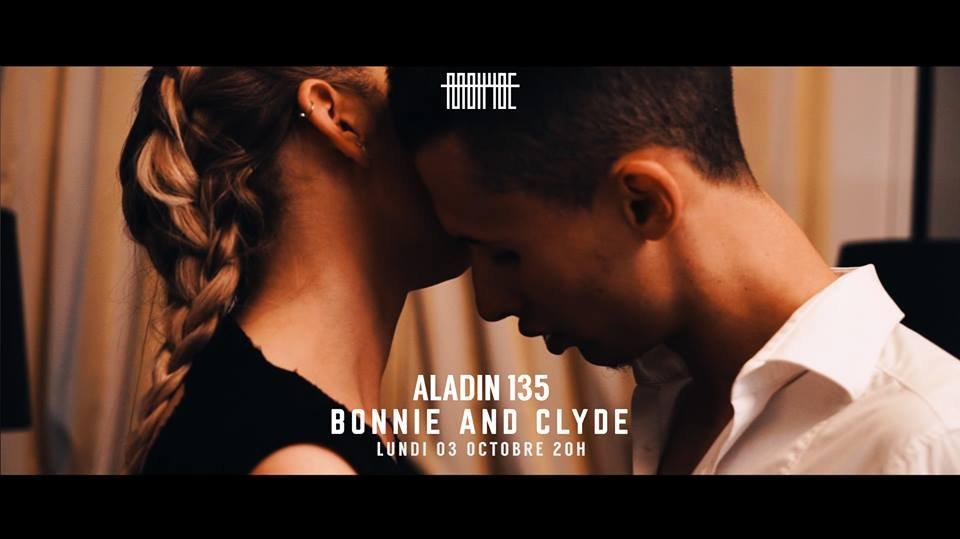 """Découvrez le nouveau clip de Aladin 135 """" Bonnie and Clyde """""""
