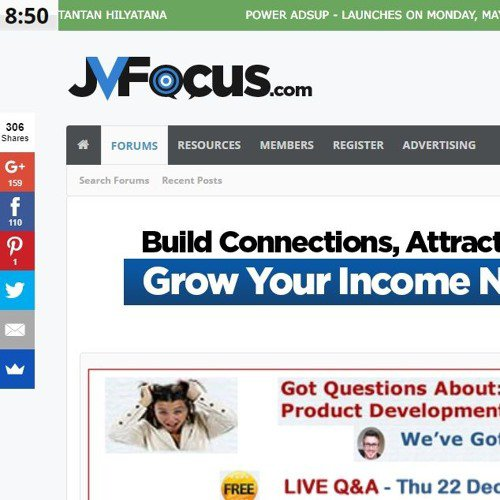 JVFocus.com - The Business Of Marketing On LinkedIn
