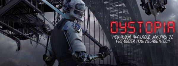 MEGADETH:Dystopia-nouvel album (22/1/16) nouveau clip