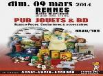 """Annonce """"09 mars 14 - jouets anciens - objets pub."""""""