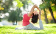 8 Yoga Poses to Celebrate National Yoga Month