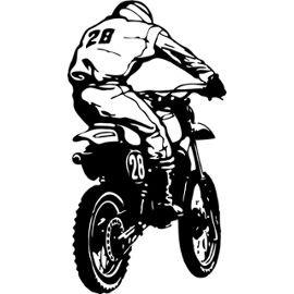 Sticker Moto 101 - 57x105 Cm - Achat et vente neufs et d'occasion sur PriceMinister