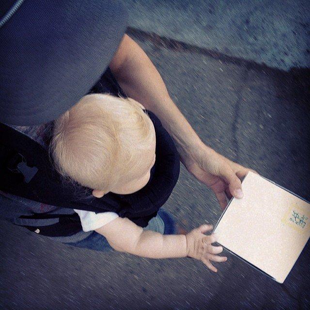 E.C.O et son fils Wyatt Oliver 17/02/14