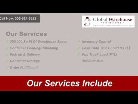 Global Warehose Solutions | 305-624-6623