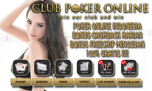Poker Online Indonesia Uang Asli Resmi Terlengkap Terpercaya