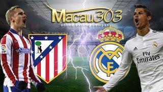 IDN SPORTSBOOK MACAU303: Prediksi Judi Bola Atletico Madrid vs Real Madrid 11 Mei 2017