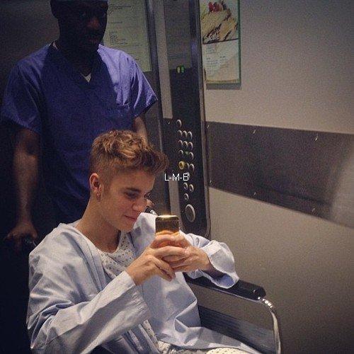 Justin a l'hôpital
