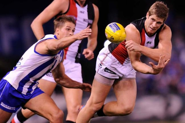 AFL Live – Round 17 – North Melbourne vs St Kilda – 12th July