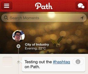 شبكة Path تدعم إضافة الوسوم   justfreelearn.com
