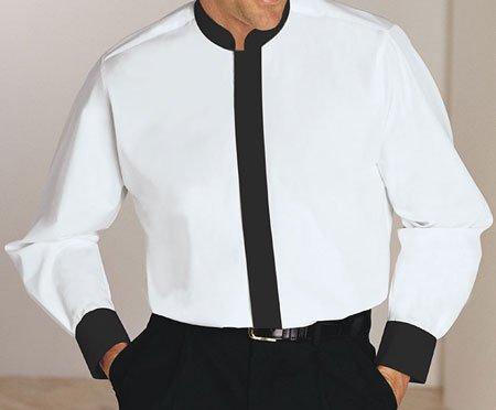 Mandarin Collar Shirts,mandarin Collar Dress Shirt,mens Mandarin Collar Tuxedo Shirt
