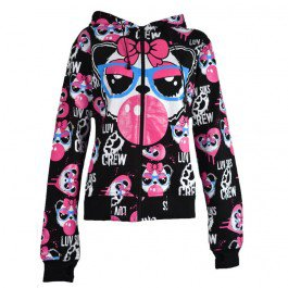 Sweat Veste Gothique Emo Panda Bubblegum