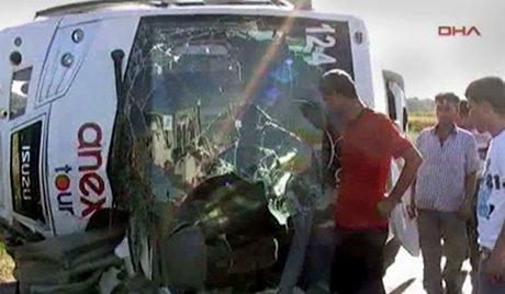 Turquie : accident de car avec les touristes russes