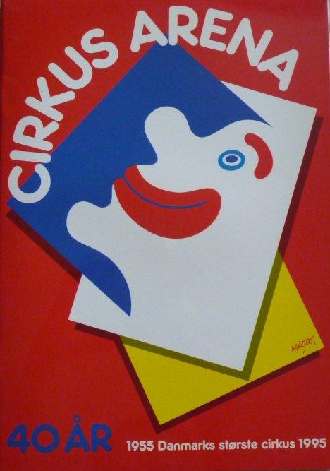 A vendre / On sale / Zu verkaufen / En venta / для продажи : Programme cirkus ARENA 1995