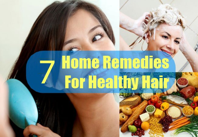 Seven Effective Home Remedies for Girls Hair - Geomaza