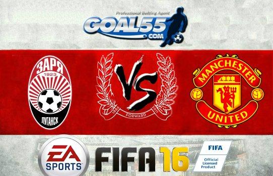 Prediksi Skor Zorya Vs Manchester United 9 Desember 2016