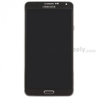 Samsung Galaxy Note 3 SM-N900V LCD and Digitizer Assembly with Frame - ETrade Supply