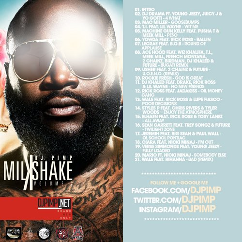 Mixtape: DJ Pimp – Milkshake Vol.2 « DJPIMP.NET Brand New Only!