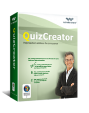 45% off coupon code for Wondershare QuizCreator
