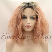 Curly lace front wigs,curly synthetic wigs-Everydaywigs.com