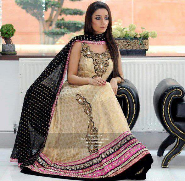 Pakistani Fashion Style: Saadia Asad Summer Party Wear Dress Collection 2013
