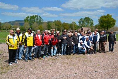 Pétanque, deuxième étape du championnat club Vétérans à La Plaine