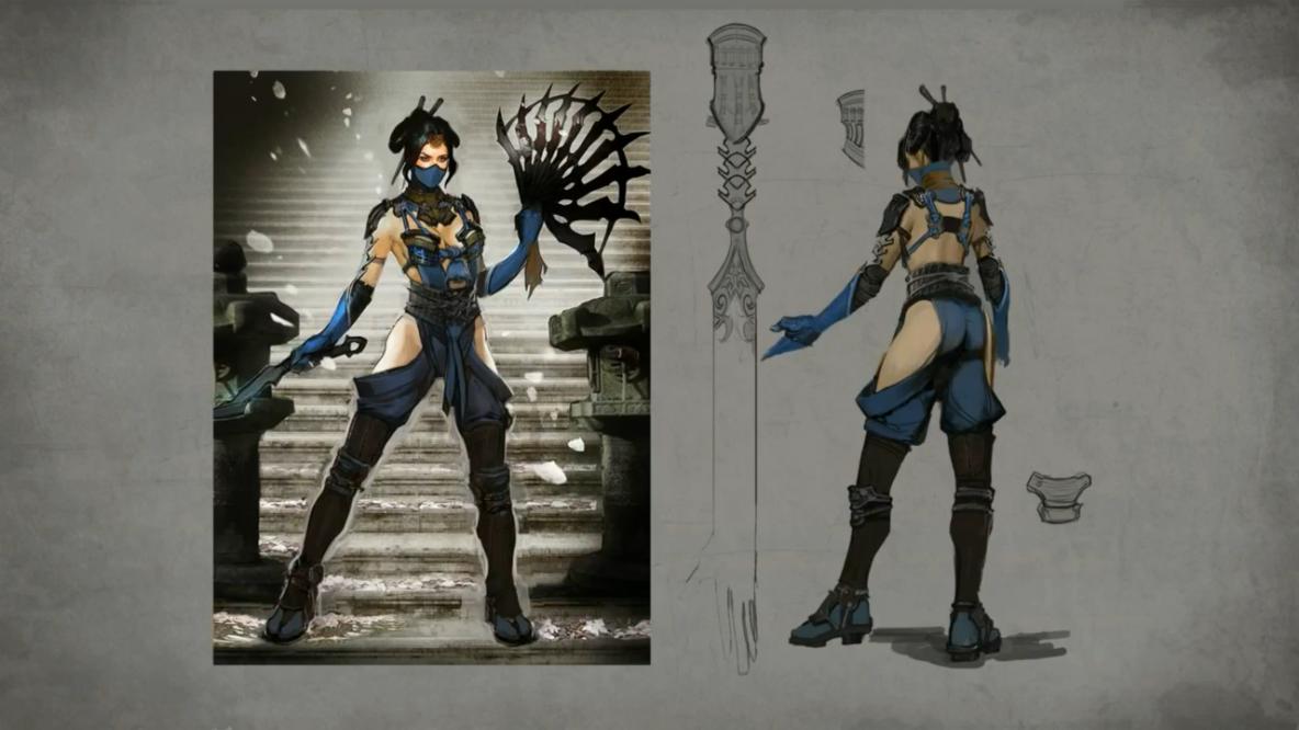 Mortal Kombat X Kitana Artwork Forums Mortal Kombat X