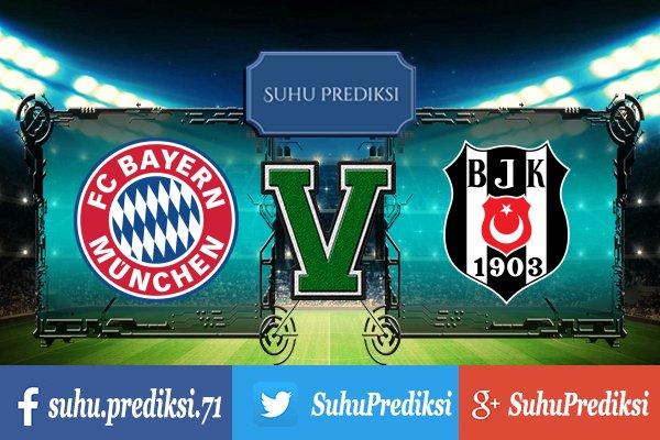 Prediksi Bola Bayern Munchen Vs Besiktas 21 Februari 2018