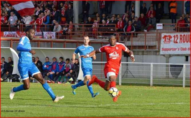 FC Rouen - Saint-Lô : 0-2 Deuxième défaite de suite pour les Diables Rouges.