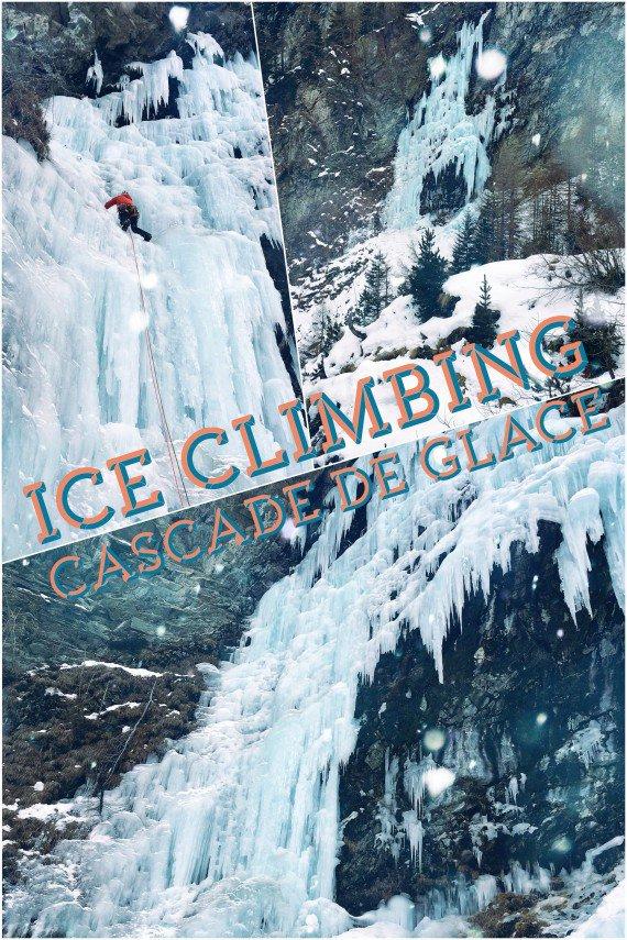 Ice climbing/ cascade de glace