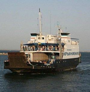 Расписание движения паромов по маршруту порт «Кавказ» – порт «Крым»