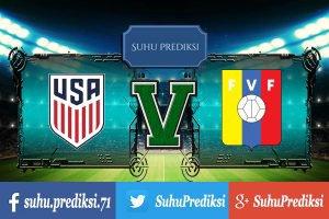 Prediksi Bola Amerika Serikat Vs Venezuela 4 Juni 2017