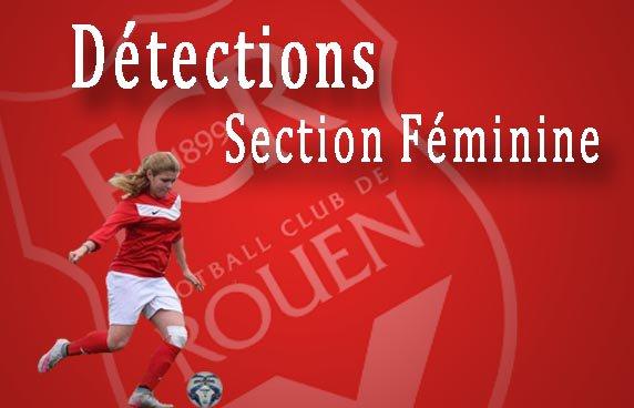 FCR - Détections féminines 2002, 2003 & 2004