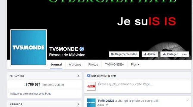L'antenne de TV5 Monde piratée par un groupe se réclamant de Daesh