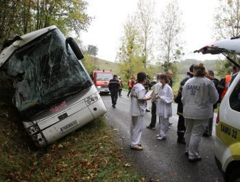 22 lycéens blessés dans deux accidents de bus scolaires - La Dépêche