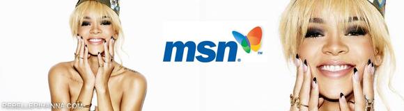 Concours MSN France: Partez avec Rihanna-REBELLE RIHANNA • Le fansite Officiel Français de Rihanna