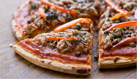 Healthy Tuna Pizza - Healthy Food Society