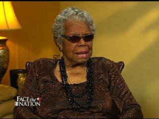 Maya Angelou recalls her childhood on Mother's Day