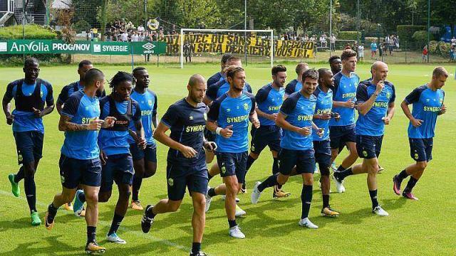 AVANT PARIS, ZOOM SUR LA PREPARATION PHYSIQUE DU FC NANTES - Ouest France