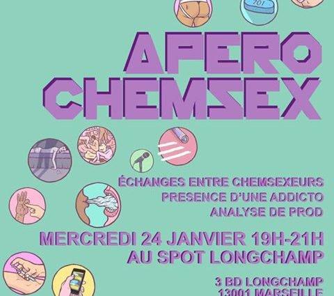 Apéro Chemsex - Gay Marseille