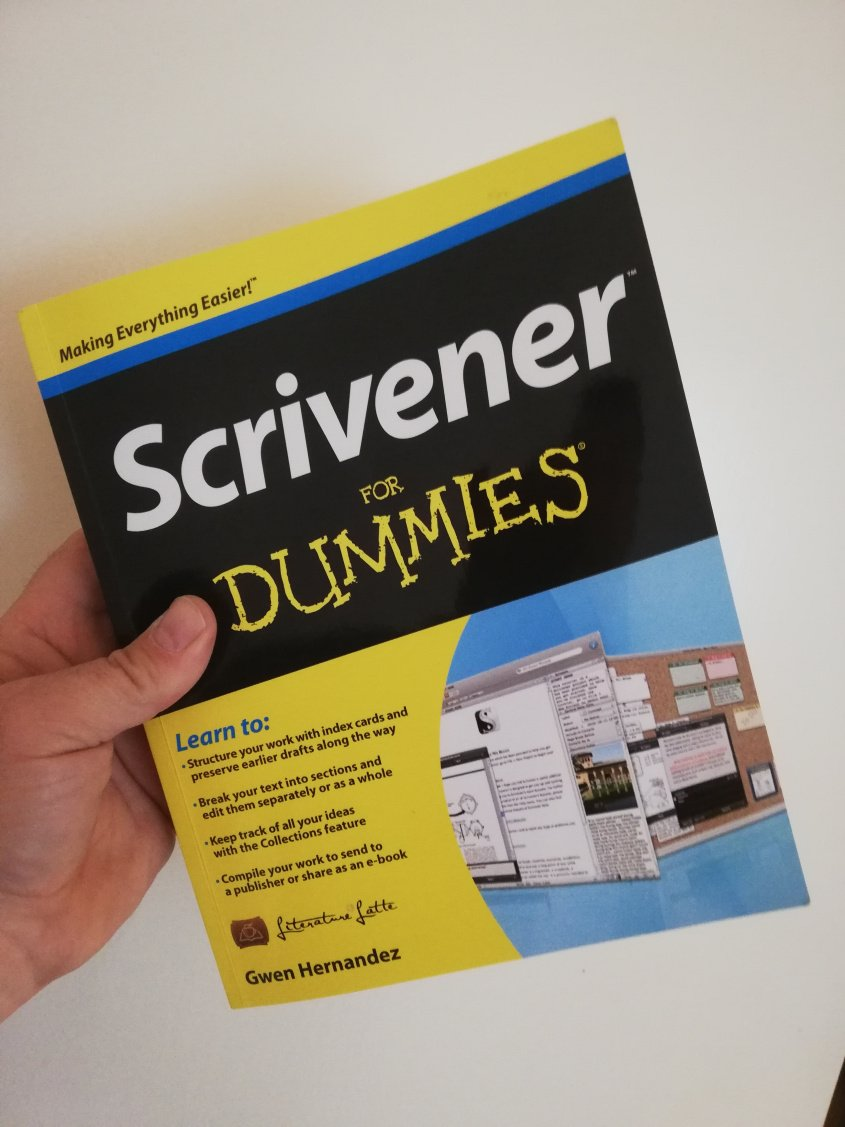 I'm reading Scrivener for Dummies!